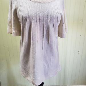 H&M white Short Sleed Sweater
